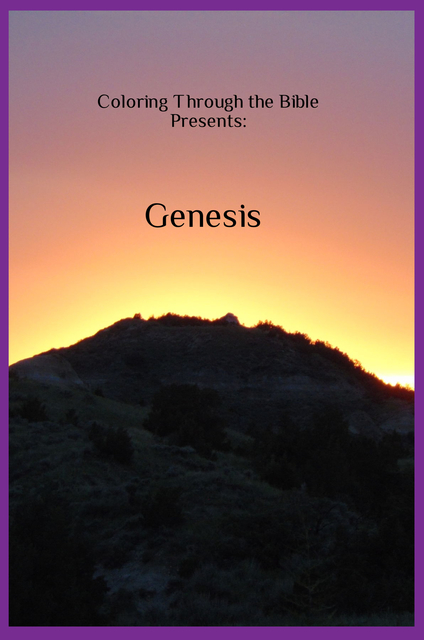 Coloring Through the Bible Presents: Genesis
