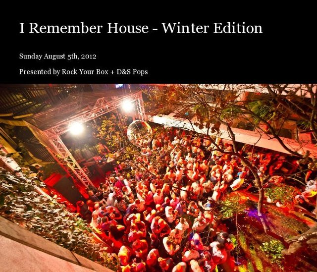 I Remember House - Winter Edition