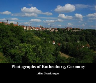Photographs of Rothenburg, Germany