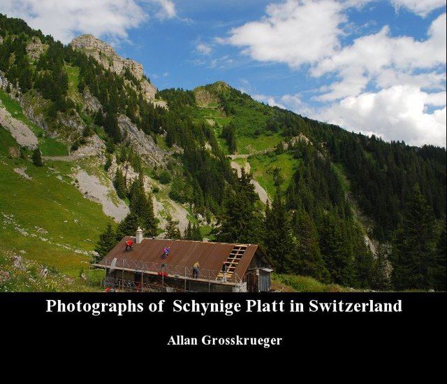 Photographs of  Schynige Platt in Switzerland