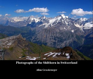 Photographs of the Shilthorn in Switzerland