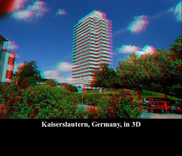 Kaiserslautern, Germany, in 3D