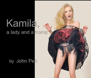 Kamila, a lady and a tramp by John Peri