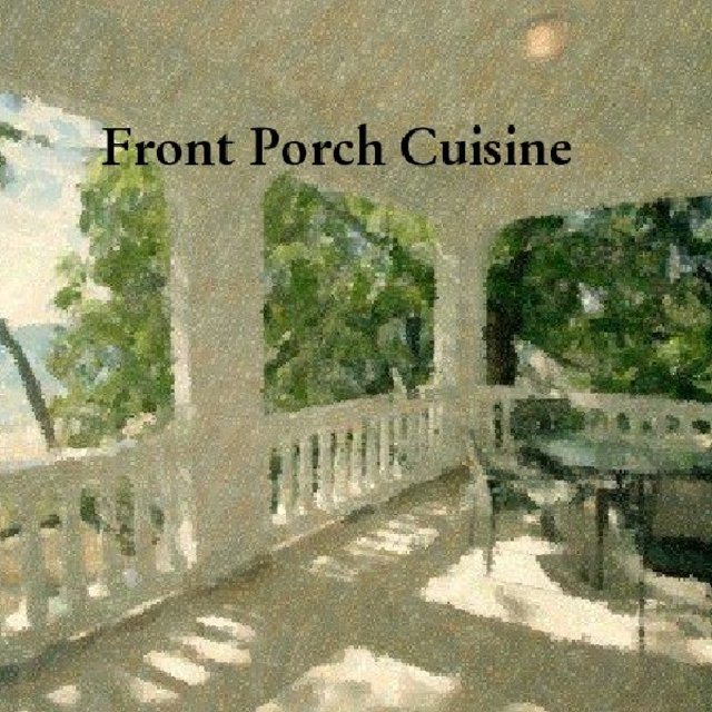 Front Porch Cuisine - Softcover