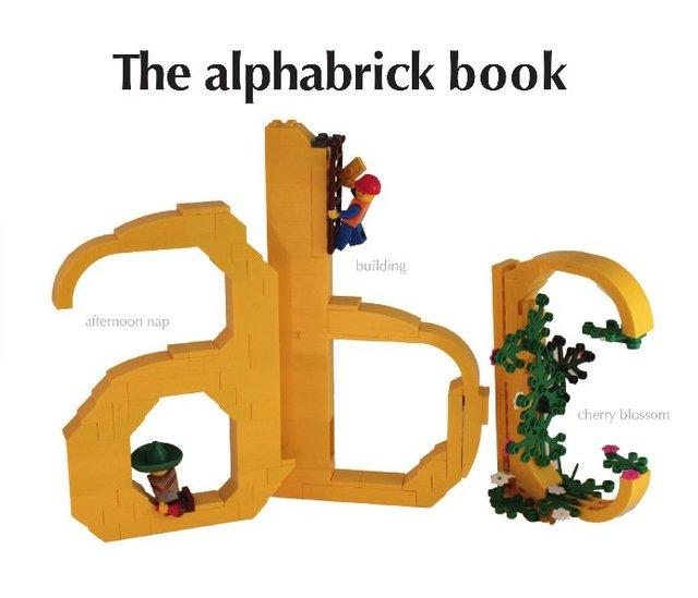 The alphabrick book