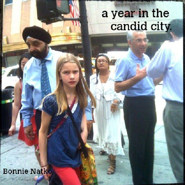 a year in the candid city.
