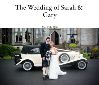 The Wedding of Sarah &amp; Gary 
