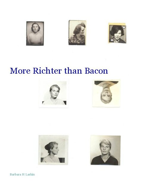 More Richter than Bacon