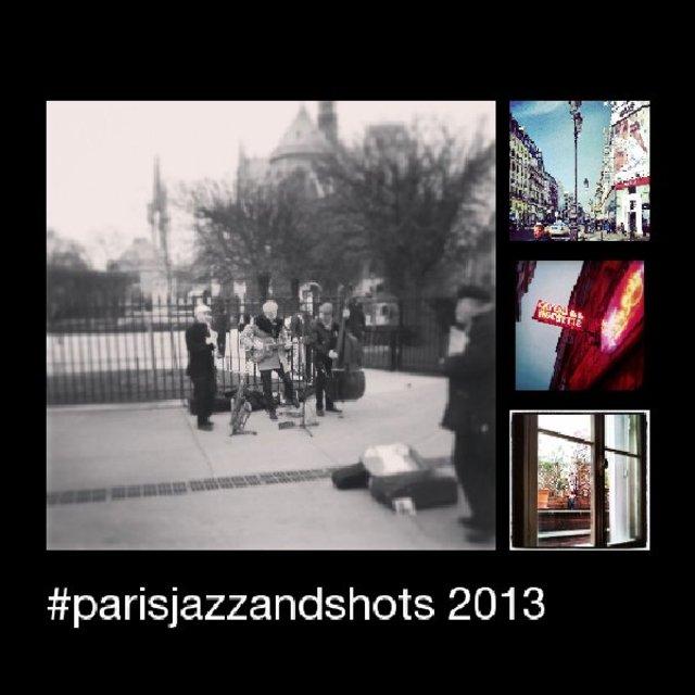 #Parisjazzandshots 2013