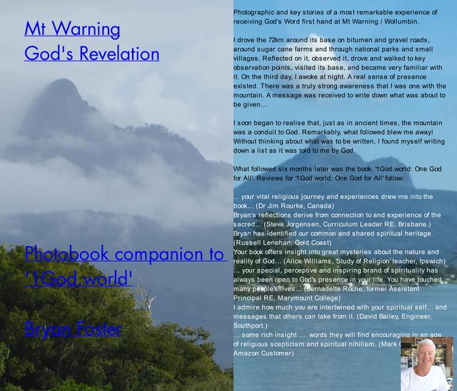 Mt Warning: God's Revelation