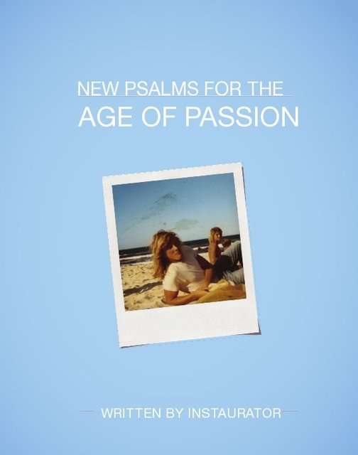 New Psalms For The Age Of Passion