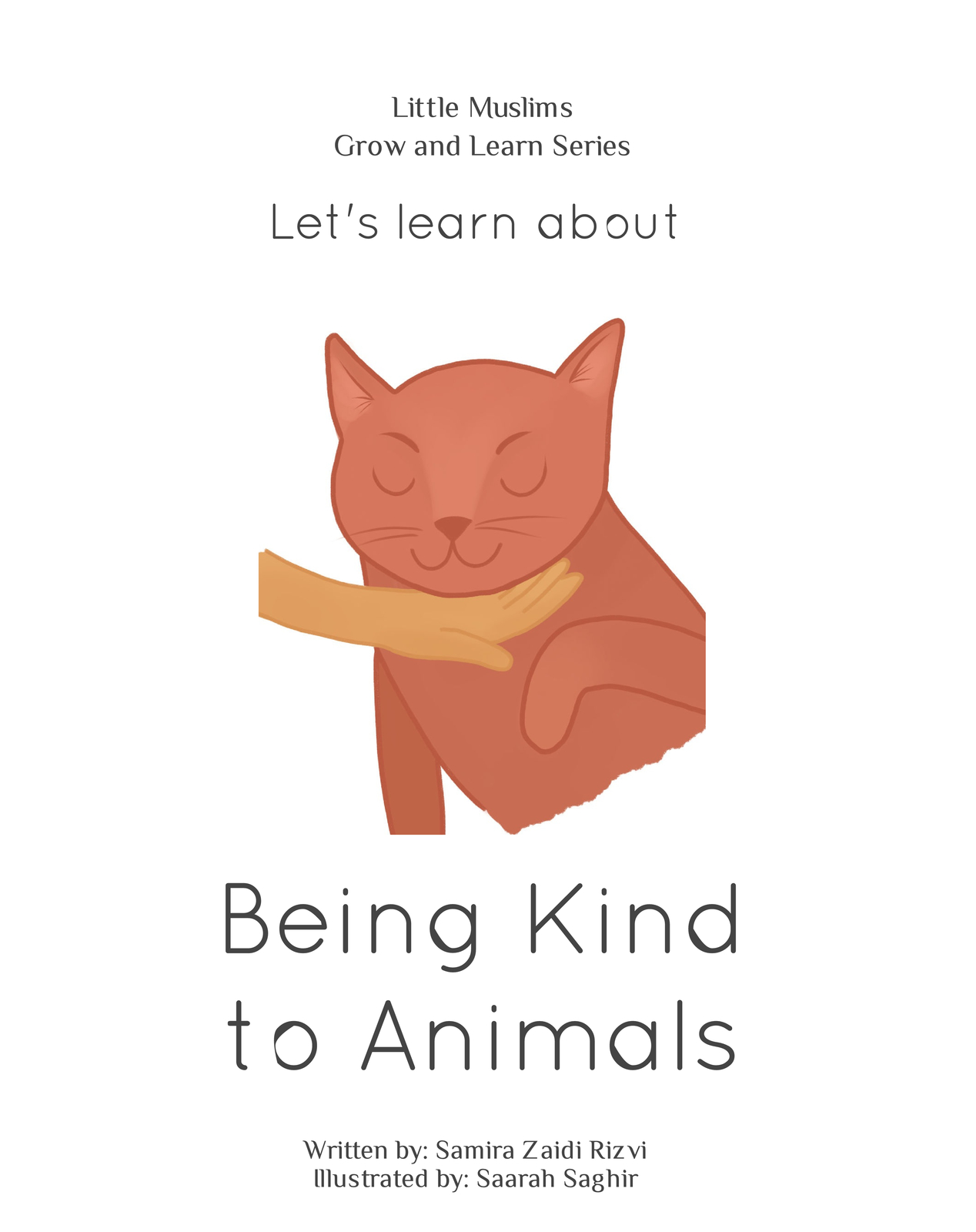 let s learn about being kind to animals blurb books