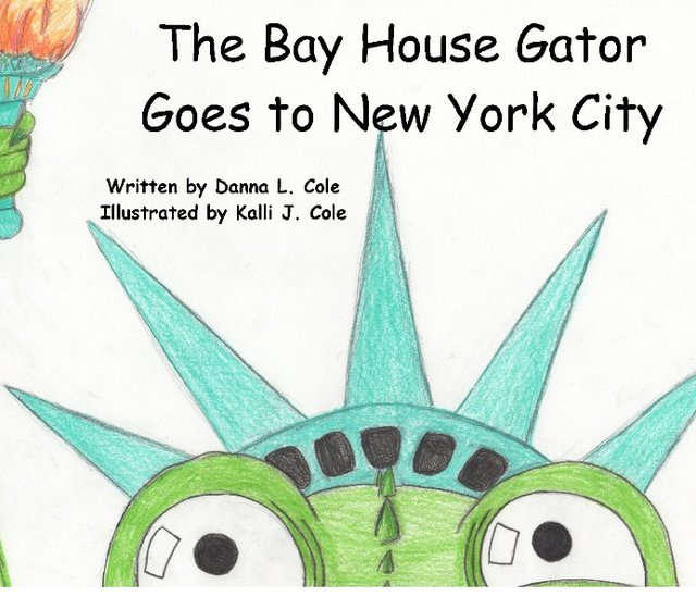 The Bay House Gator Goes to New York City