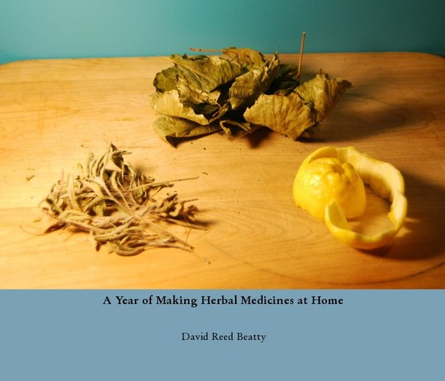 A Year of Making Herbal Medicines at Home