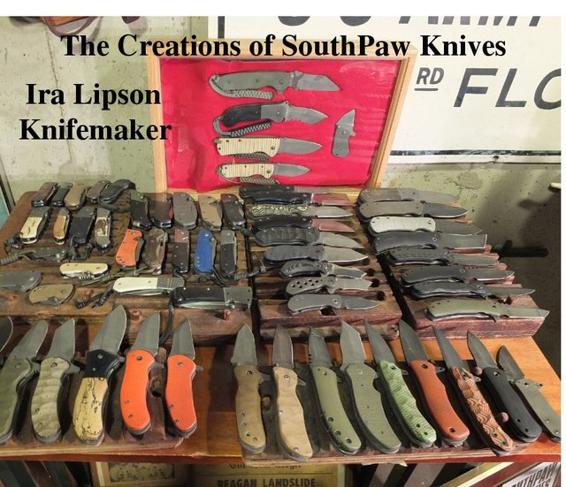 The Creations of SouthPaw Knives
