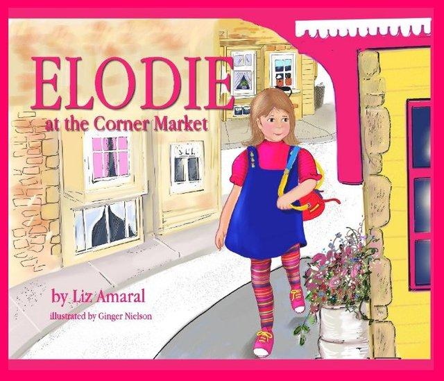 Elodie at the Corner Market