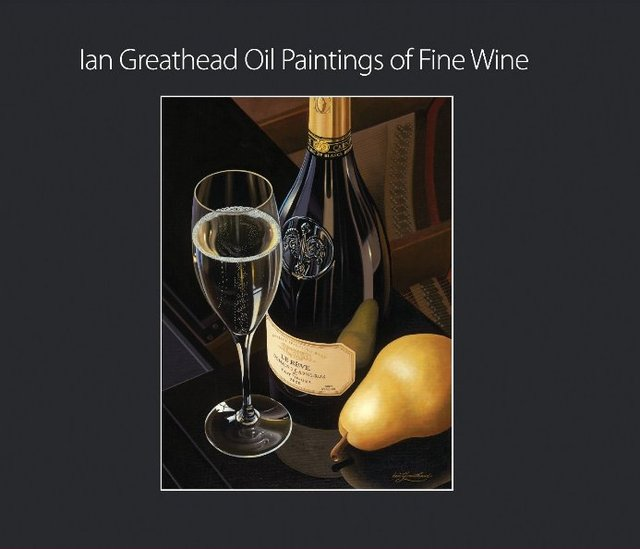 Ian Greathead Oil Paintings of Fine Wine