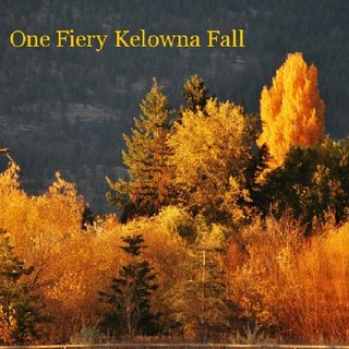 One Fiery Kelowna Fall