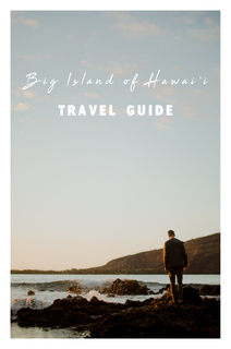 Big Island Travel Guide book cover