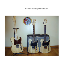 The Picture Book Story Of Barrett Guitars book cover
