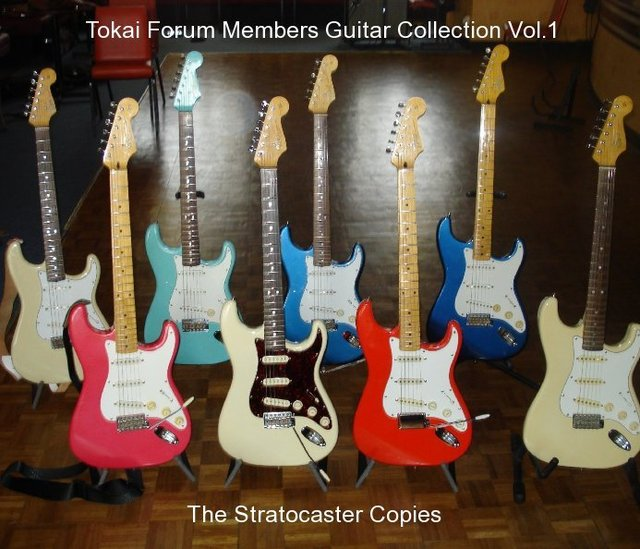 Tokai Forum Members Guitar Collection Vol.1