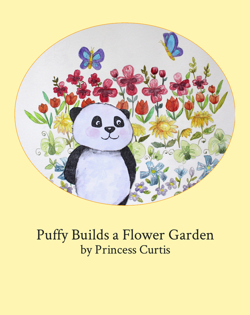 Puffy Builds a Flower Garden