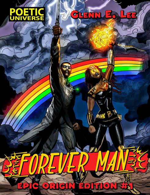 Forever Man Comic Book