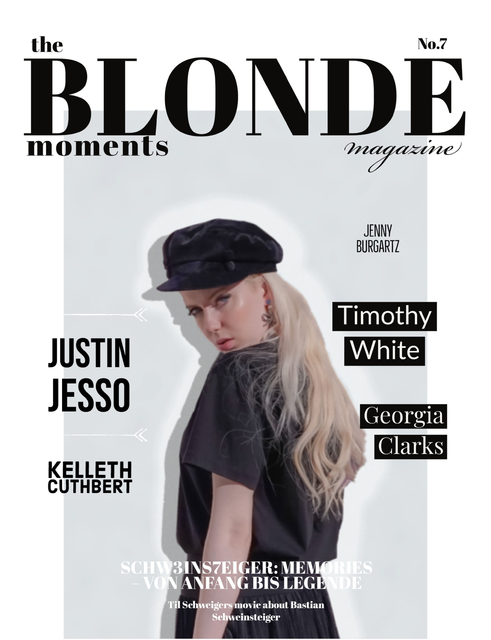 The Blonde Moments Magazine/ N0.7