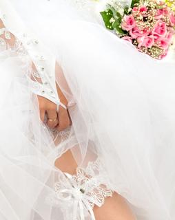 Bride garter book cover