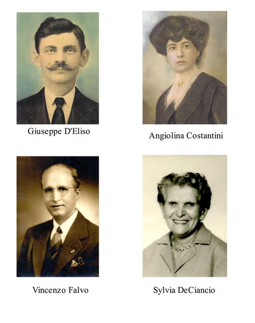My Wife's Italian Immigrant Grandparents: