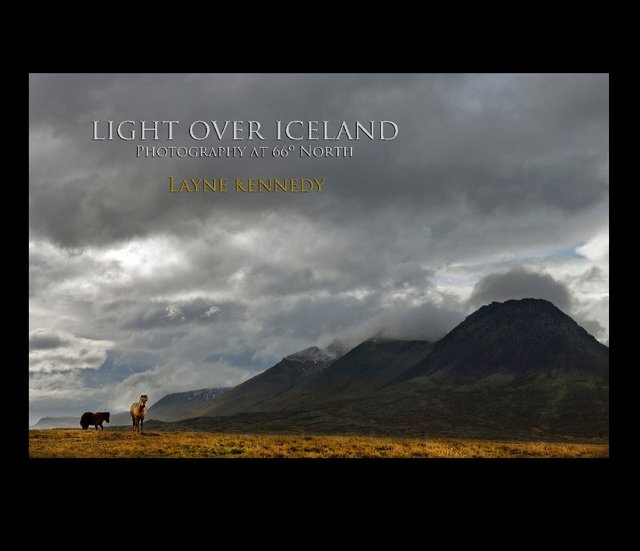 LIGHT OVER ICELAND