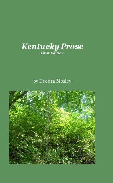 Kentucky Prose First Edition