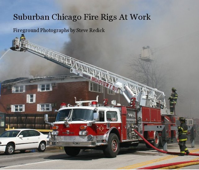 Suburban Chicago Fire Rigs At Work