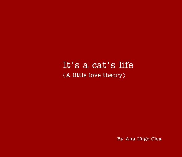 It's a cat's life (A little love theory)