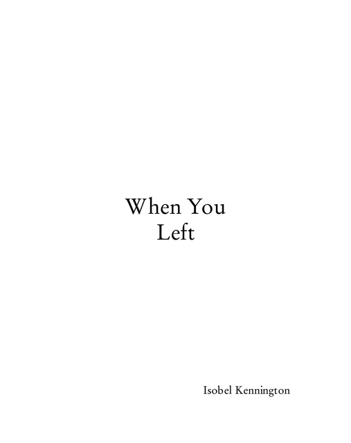 When You Left