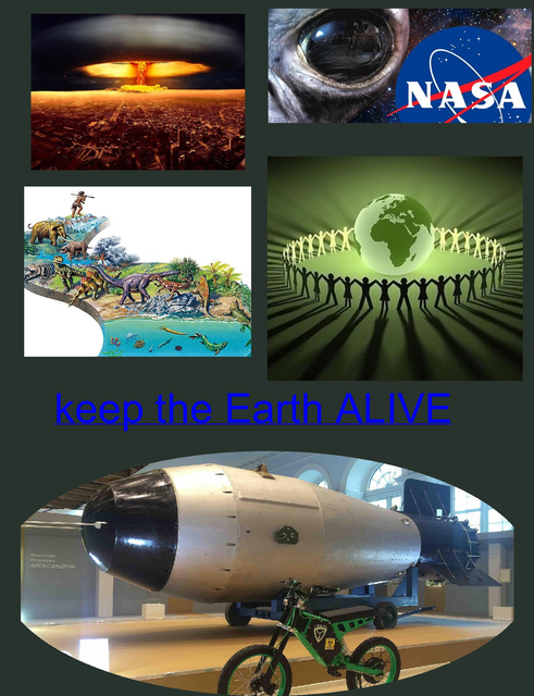 Keep the Earth ALIVE - How to LIVE