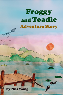 Froggy and Toadie Adventure Story book cover