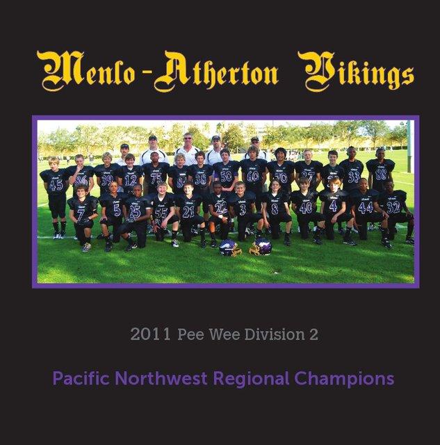 2011 Menlo-Atherton Pop Warner Vikings