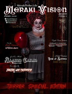 Meraki Vision October 2020 - Terror Special book cover