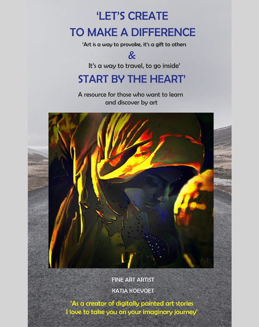 Fine Photo Art book 1  Let's Create by Katja Koevoet 'Art is a way to provoke, it's a gift to others'.