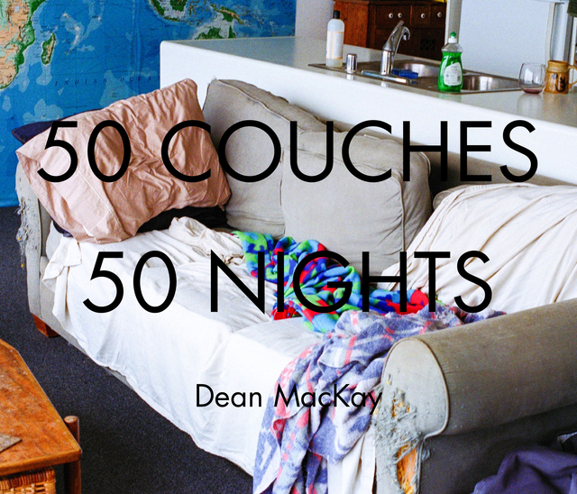 50 Couches in 50 Nights - standard softcover