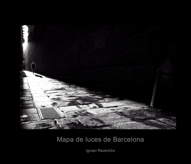 Mapa de luces de Barcelona