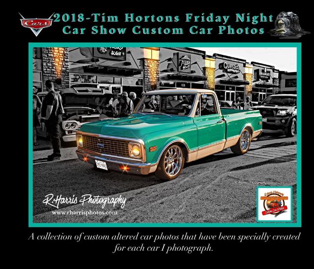 2018-Tim Hortons Custom Car Show Photo Book