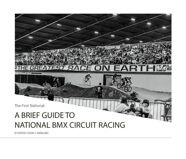 A Brief Guide to National BMX Circuit Racing