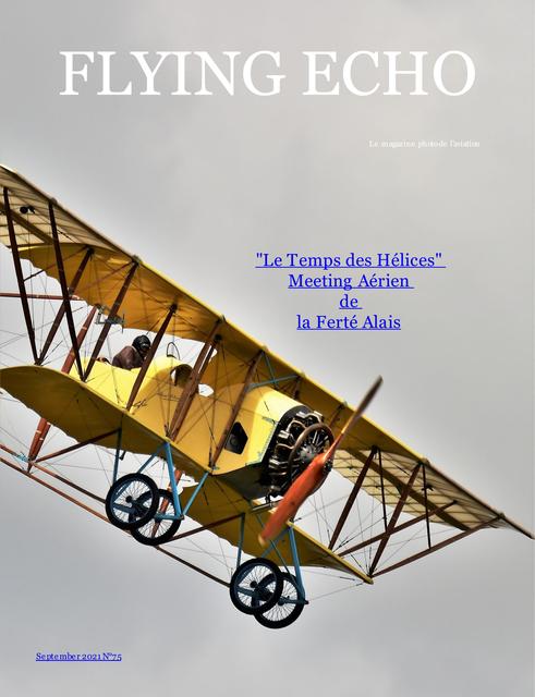 Flying echo photo magazine september 2021 N°75