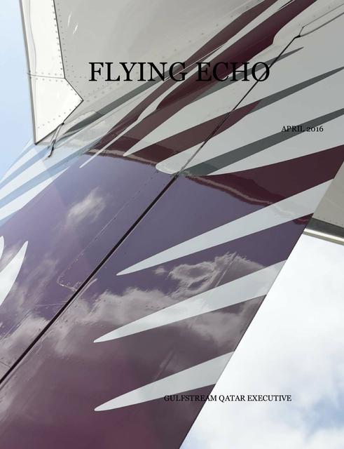 FLYING ECHO APRIL 2016