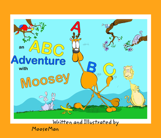 an ABC Adventure with Moosey book cover