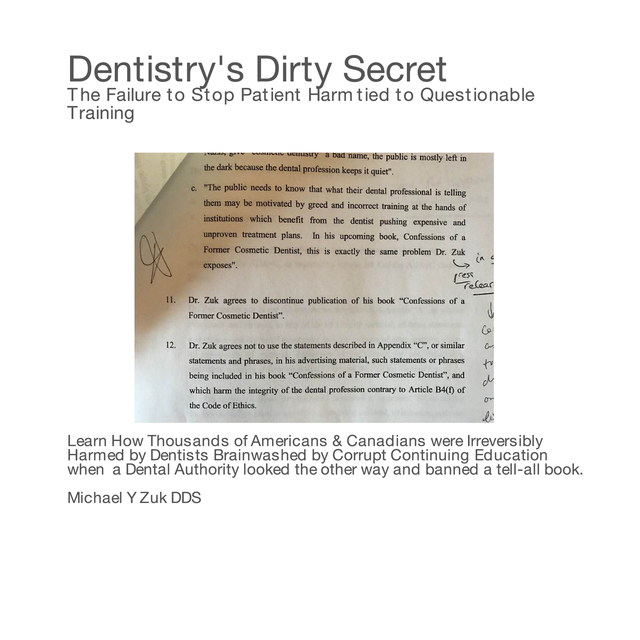 Dentistry's Dirty Secret