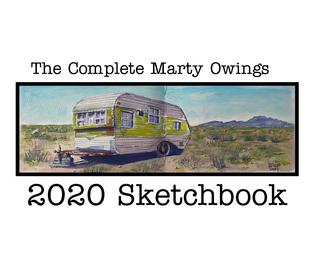 Marty Owings Sketchbook book cover
