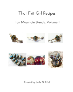 That Frit Girl Frit Recipes 96 COE, Volume 1 book cover